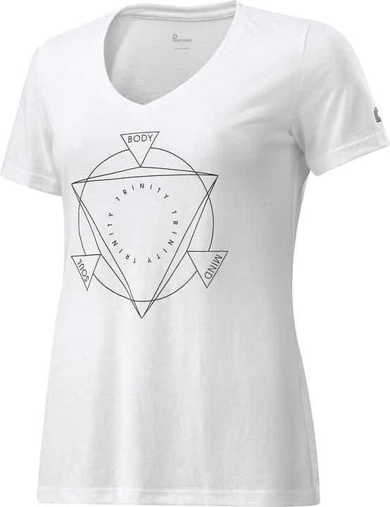 Shirt pour femme Perform 464907403610 Couleur blanc Taille 36 Photo no. 1