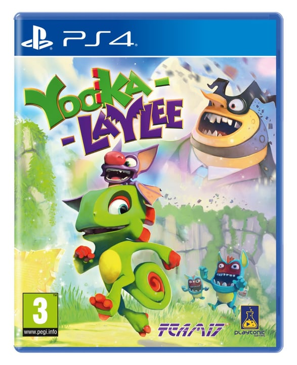 PS4 - Yooka-Laylee Box 785300121834 Photo no. 1