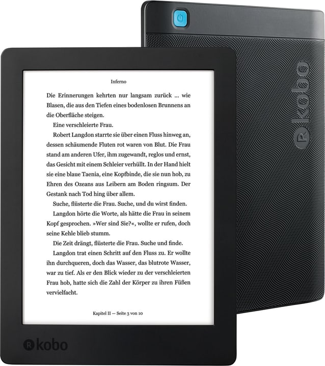 "Aura H20 6.8"" (2017) eBook-Reader Kobo 782675400000 Bild Nr. 1"
