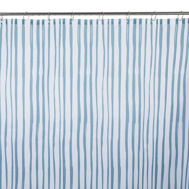 SOHO Rideau de douche 374015824502 Dimensions L: 180.0 cm x H: 180.0 cm Couleur Bleu Photo no. 1