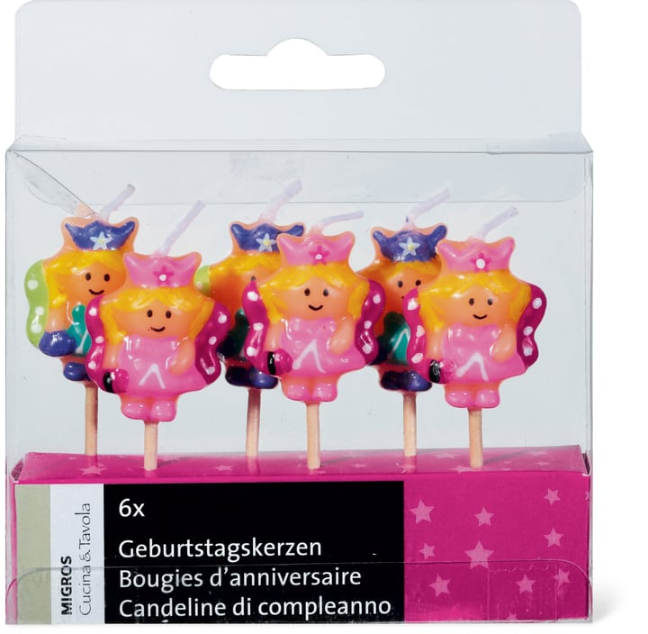 CUCINA & TAVOLA Bougies d'anniversaire fille Cucina & Tavola 704926500000 Photo no. 1