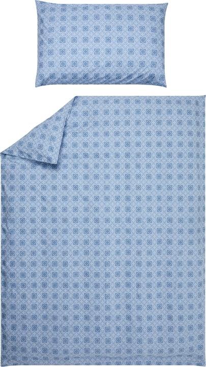 ISABEL Perkal-Kissenbezug 451193510640 Farbe Blau Grösse B: 65.0 cm x H: 65.0 cm Bild Nr. 1