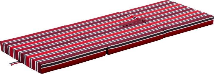THOMMY Matelas d'appoint pliant 404556300030 Colore Rosso Dimensioni L: 63.0 cm x P: 190.0 cm x A: 8.0 cm N. figura 1