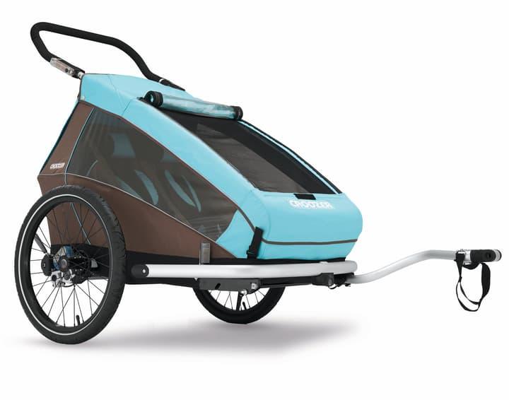 Kid for 2 Plus Remorque pour vélo Croozer 462903300000 Photo no. 1