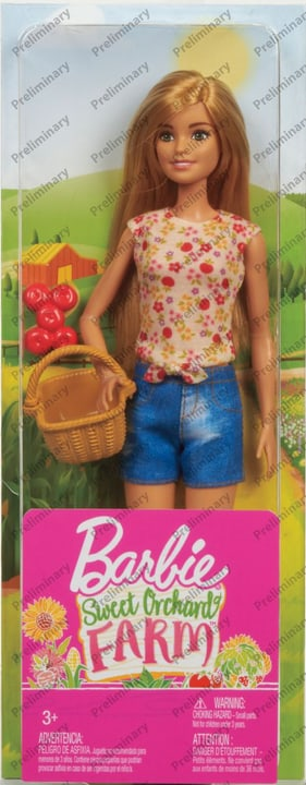 Barbie GCK68 Farm Poupée 746568100000 Photo no. 1