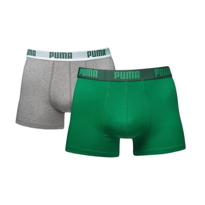 Boxer Shorts Herren-Boxershorts 2er Pack Puma 497136400363 Farbe Dunkelgrün Grösse S Bild-Nr. 1