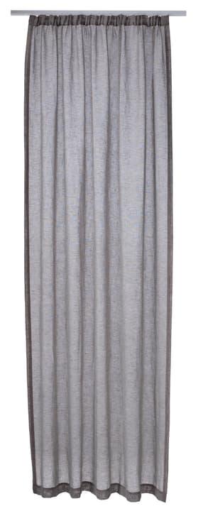 FERNANDA Rideau prêt àposer jour 430264821220 Couleur Noir Dimensions L: 145.0 cm x P: 250.0 cm x H:  Photo no. 1