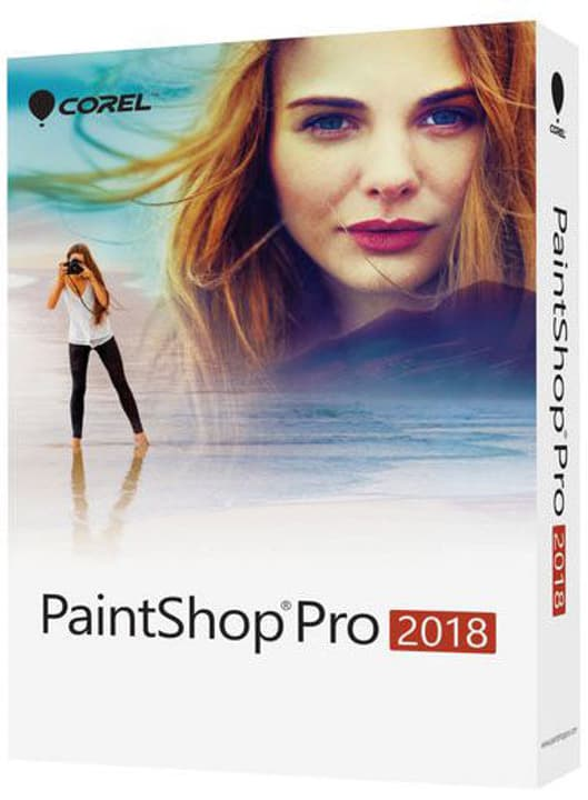 PC - Paint Shop Pro 2018 - version complète Physique (Box) Corel 785300131453 Photo no. 1