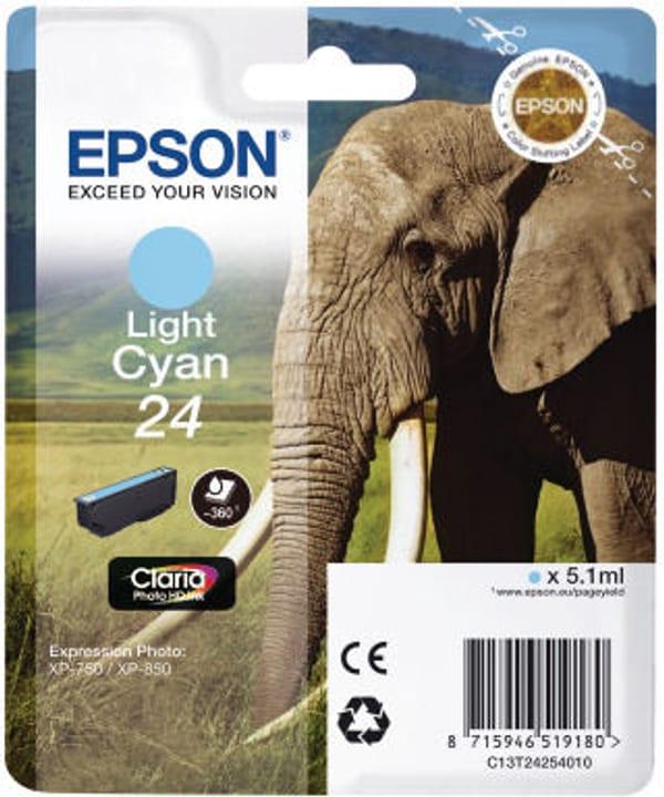 T24 Tintenpatrone light cyan Tintenpatrone Epson 798553300000 Bild Nr. 1