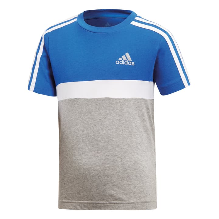 Colour Block Tee Shirt pour garçon Adidas 472340609840 Couleur bleu Taille 98 Photo no. 1