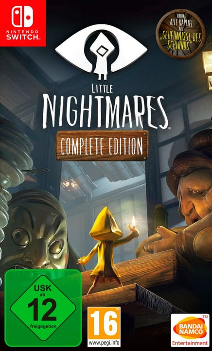 Switch - Little Nightmares - Complete Edition (I) Physisch (Box) 785300132968 Bild Nr. 1
