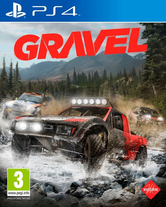 Gravel [PS4] (D/F/I) Physique (Box) 785300122251 Photo no. 1