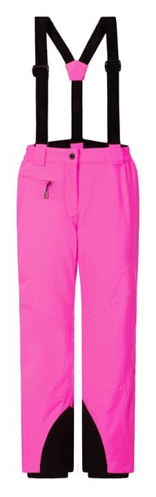 Nigella Pantalon de ski pour fille Icepeak 464582814029 Colore magenta Taglie 140 N. figura 1