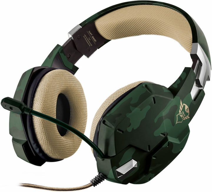 GXT 322C Gaming Headset vert camouflage Trust-Gaming 785300131901 Photo no. 1