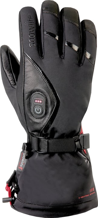 Heat GTX Gants de ski chauffant Snowlife 464410208020 Couleur noir Taille 8 Photo no. 1