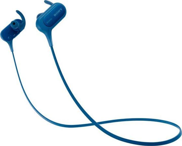 MDR-XB50BS Casque bleu Casque In-Ear Sony 785300125848 Photo no. 1