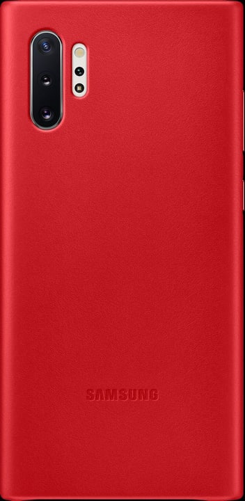 Leather Cover red Coque Samsung 785300146385 Photo no. 1