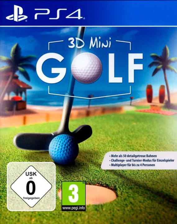 PS4 -   3D Mini Golf  D 785300133165 N. figura 1