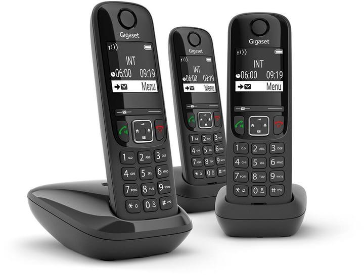 A S690 Trio noir Téléphone fixe Gigaset 785300151947 Photo no. 1