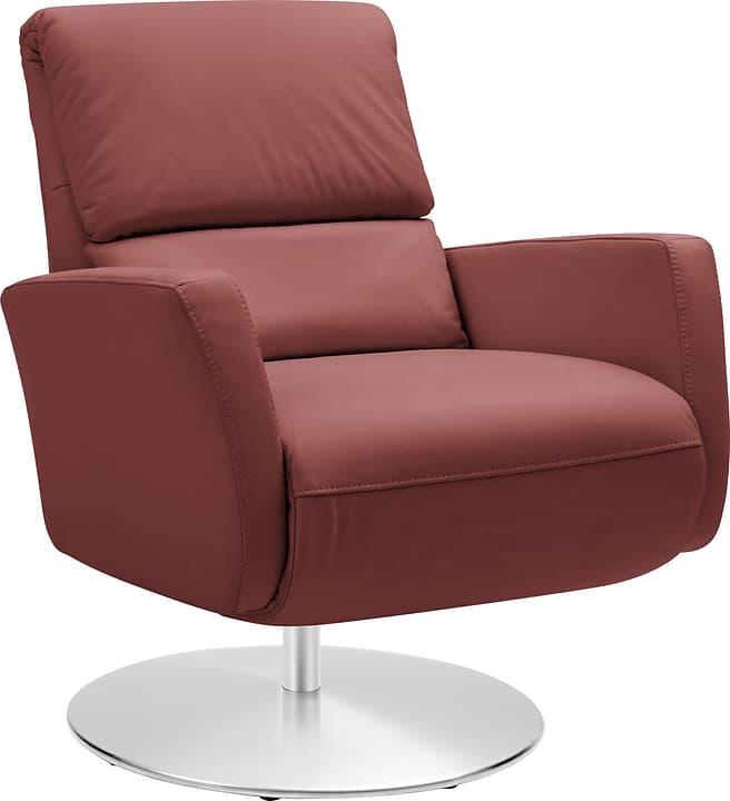 ARTHUR Relaxsessel 402476307034 Grösse B: 74.0 cm x T: 95.0 cm x H: 84.0 cm Farbe Bordeaux Bild Nr. 1