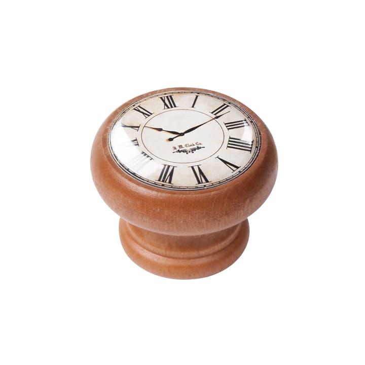 Möbelknopf weiss Uhr Honig 607127300000 Bild Nr. 1
