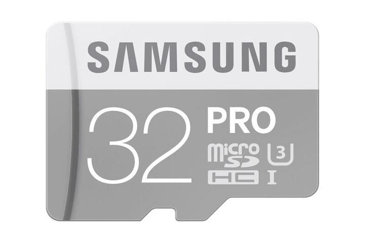 micro SDHC Card Pro 32GB Samsung 798208800000 Photo no. 1