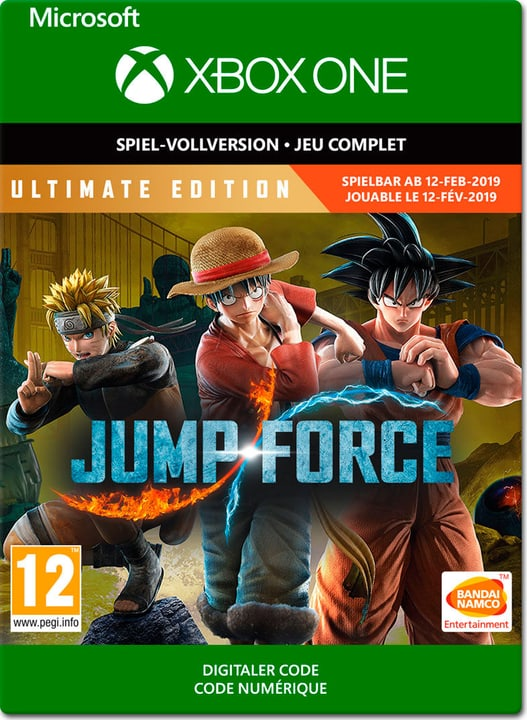 Xbox One - Jump Force: Ultimate Edition Download (ESD) 785300141857 Bild Nr. 1