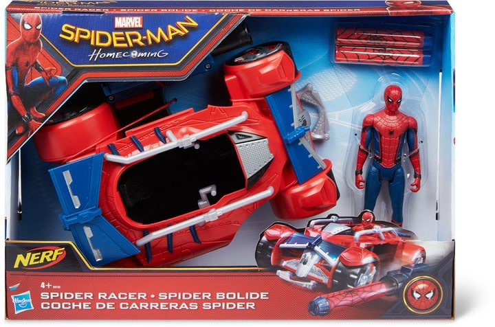 "Spider-Man Web City 6"" Hero Racer 748644700000 Bild Nr. 1"