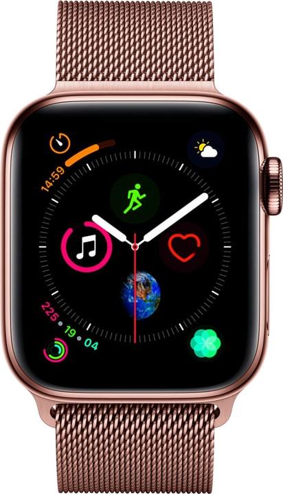 Watch Serie 4 40mm GPS+Cellular gold Stainless Steel Gold Milanese Loop Smartwatch Apple 798453900000 Bild Nr. 1
