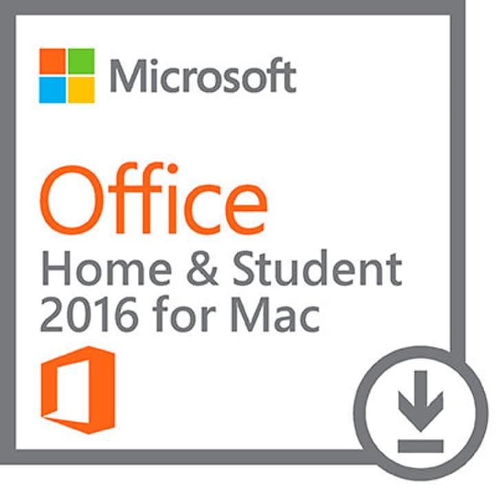 Office Home + Student 2016 Mac ESD Digital (ESD) Microsoft 785300133579 Bild Nr. 1