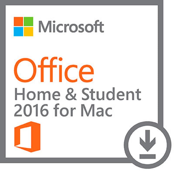 MAC MS Office Home and Student 2016 ESD Microsoft 785300133579 N. figura 1