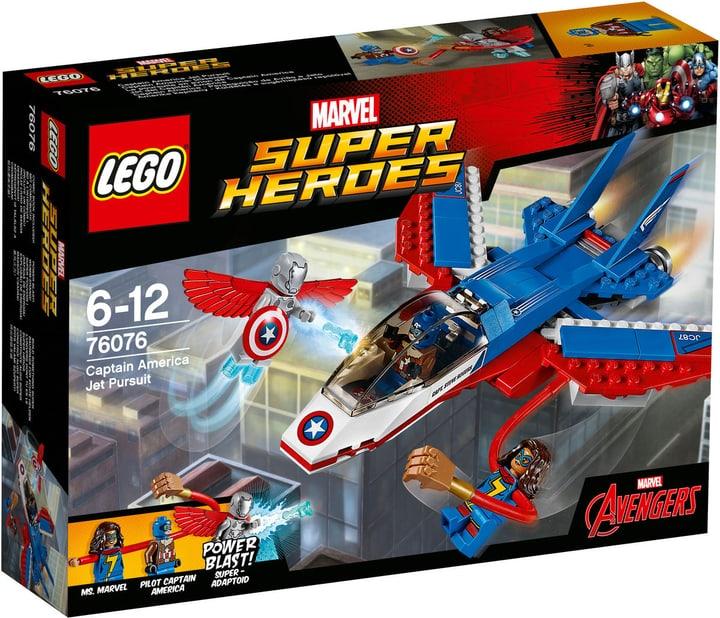 Lego Marvel Super Heroes Inseguimento sul jet di Capitan America 76076 747444800000 N. figura 1