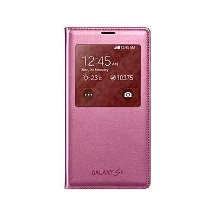 GALAXY S5 S View Cover - glam pink Samsung 797911800000