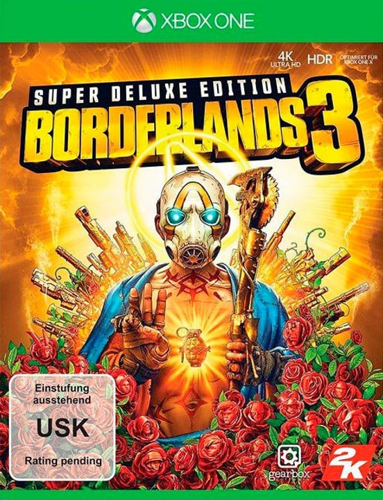 Xbox One - Borderlands 3 Super Deluxe Edition Box 785300145697 Langue Allemand Plate-forme Microsoft Xbox One Photo no. 1