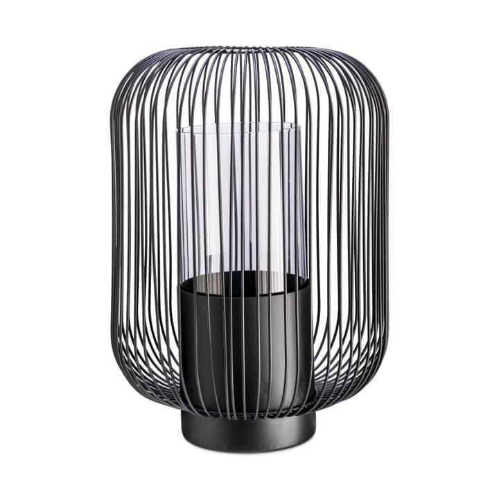 LEANDRO lanterne 396118500000 Dimensions H: 36.0 cm Couleur Noir Photo no. 1