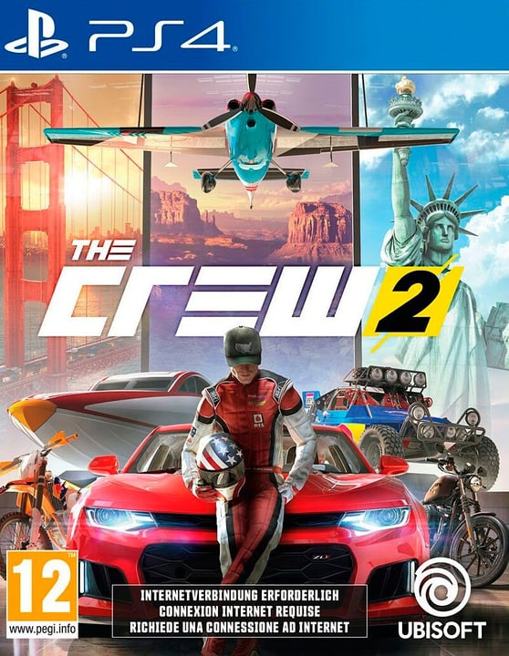 The Crew 2 [PS4] (D) Box 785300146266 Photo no. 1