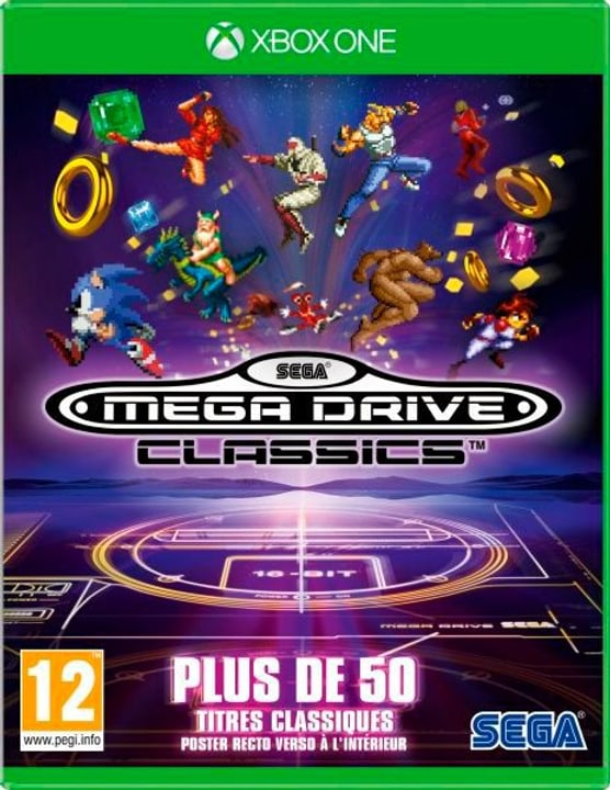 Xbox One - SEGA Mega Drive Classics (F) Fisico (Box) 785300134879 N. figura 1