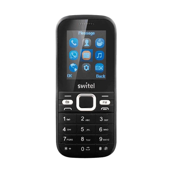 M107D 3G Téléphone mobile noir Téléphone mobile Switel 785300126782 Photo no. 1