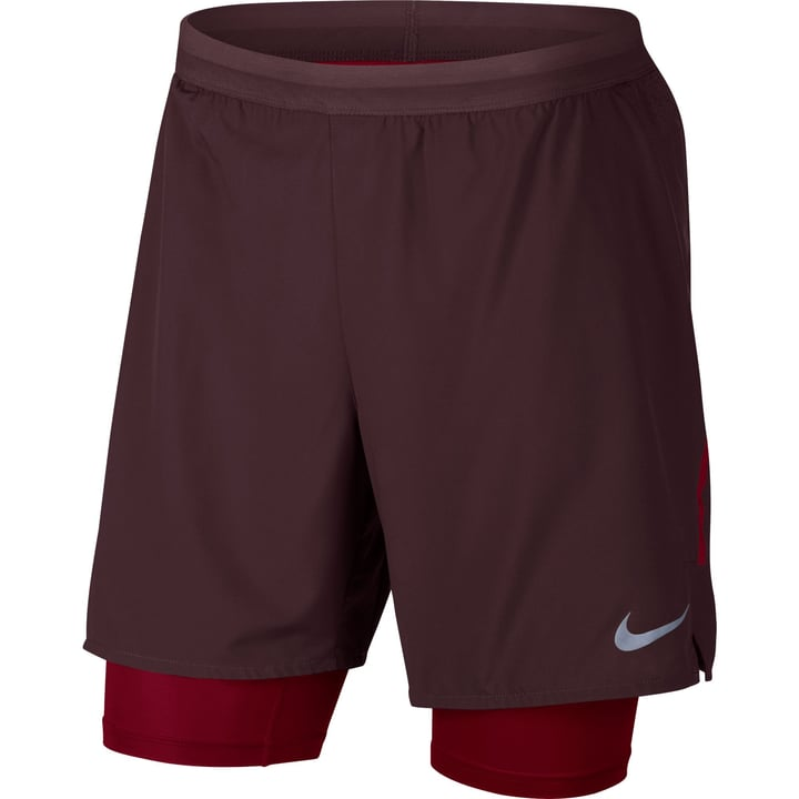 Flex Stride 2-in-1 Running Shorts Short pour homme Nike 470144300488 Couleur bordeaux Taille M Photo no. 1
