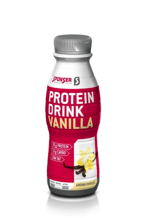 Protein Drink BOISSON RICHE EN PROTEINES Sponser 471935300100 Goût Vanille Photo no. 1