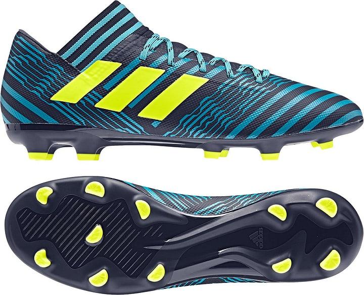 Nemeziz 17.3 FG Chaussures de football pour homme Adidas 493114140065 Couleur petrol Taille 40 Photo no. 1