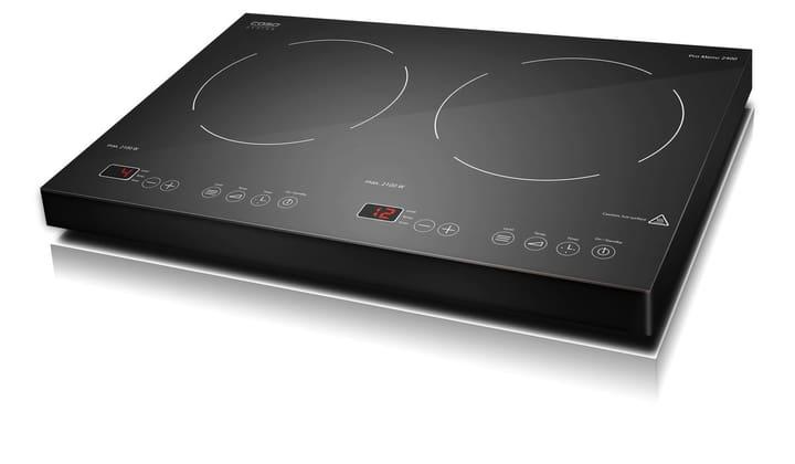 plaque de cuisson à induction, double foyer Pro Menu 2400 noir Caso 785300123353 Photo no. 1