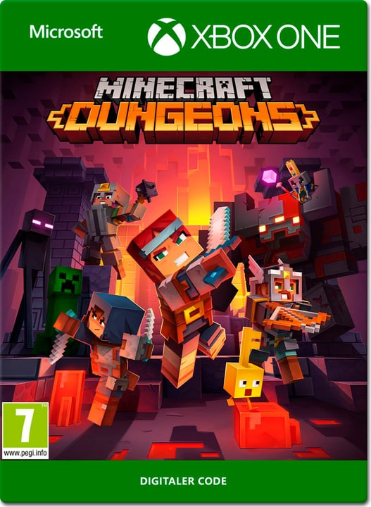 Act key/Minecraft Dungeons Download (ESD) 785300150846 Photo no. 1