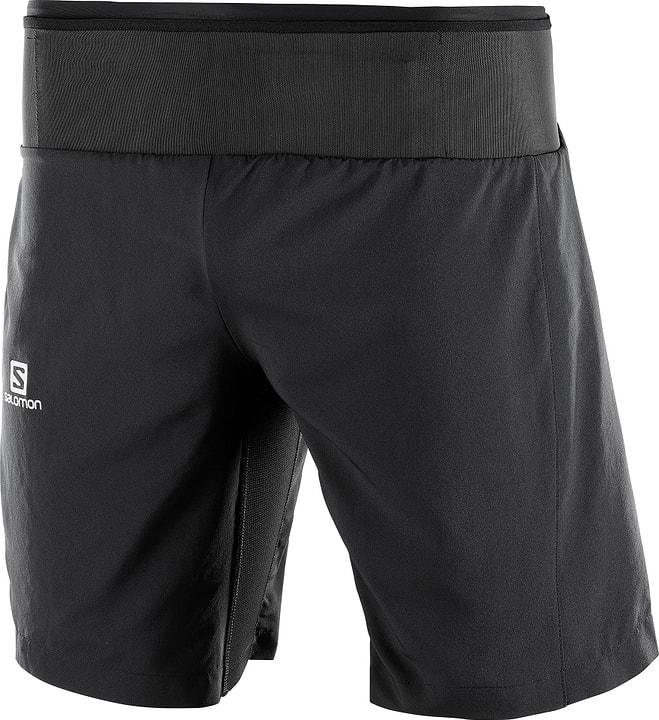 Trail Runner Twinskin Herren-Shorts Salomon 470175200320 Farbe schwarz Grösse S Bild-Nr. 1