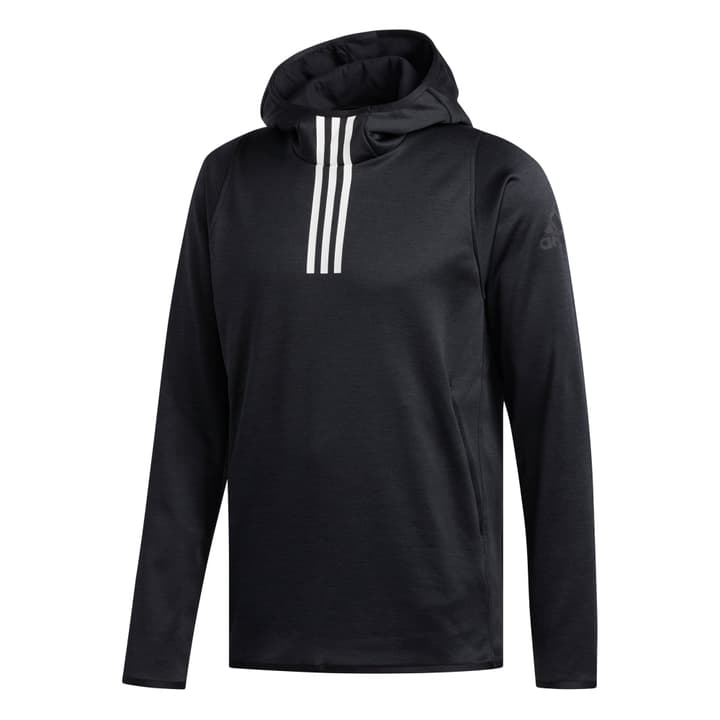 Warm 3S Hoodie Hoody pour homme Adidas 464994200320 Colore nero Taglie S N. figura 1