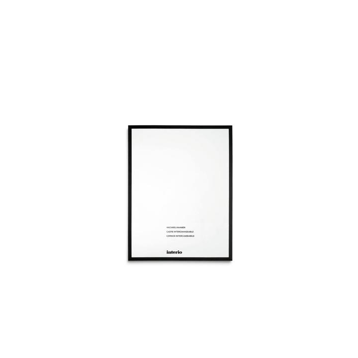 PANAMA Cornice 384002613108 Dimensioni quadro 18 x 24 Colore Nero N. figura 1