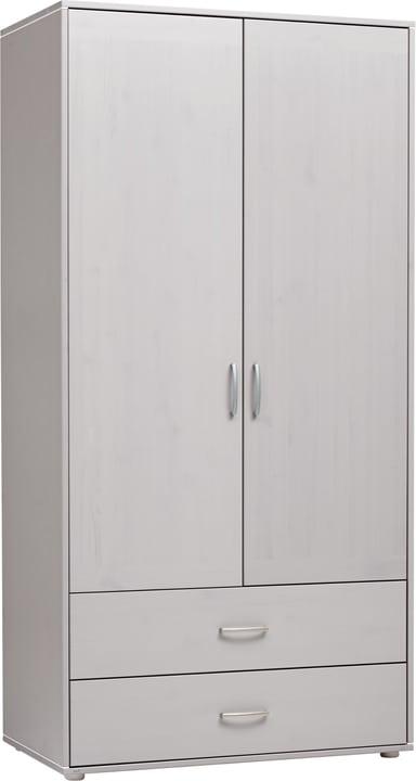 CLASSIC Schrank Flexa 404997500000 Grösse B: 101.0 cm x T: 56.5 cm x H: 202.5 cm Farbe Grau Bild Nr. 1