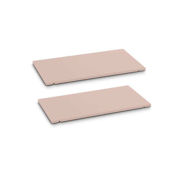 SEVEN Tablar 2er-Set 60cm 362019447902 Grösse B: 60.0 cm x T: 1.4 cm x H: 35.5 cm Farbe Rosa Bild Nr. 1