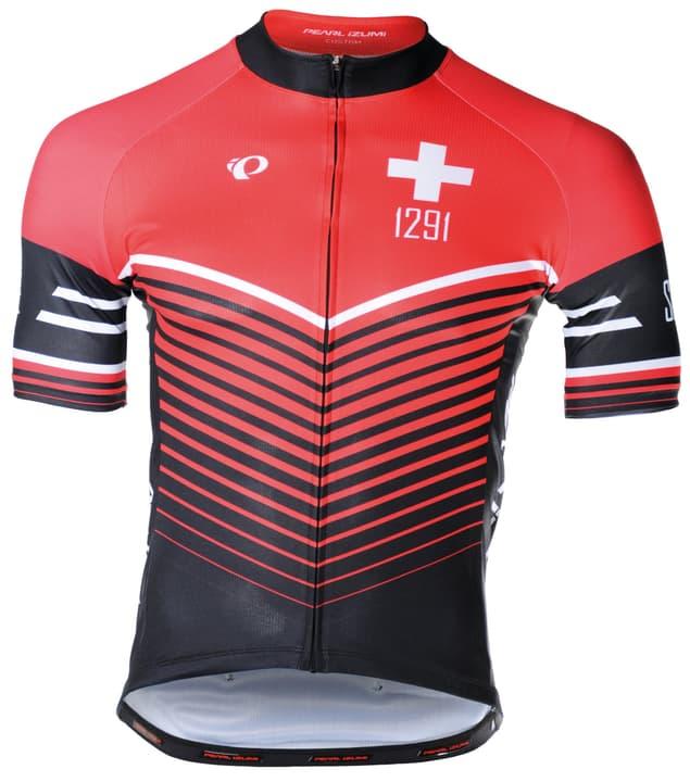 Elite Pursuit Suisse Herren-Kurzarmtrikot Pearl Izumi 461369000530 Farbe rot Grösse L Bild-Nr. 1
