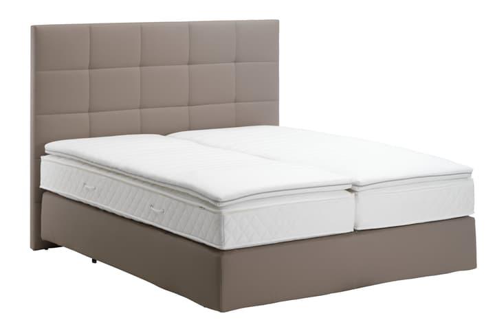 NAVIER Boxspring Bett 403460600000 Farbe Taupe Grösse B: 160.0 cm x T: 200.0 cm Bild Nr. 1